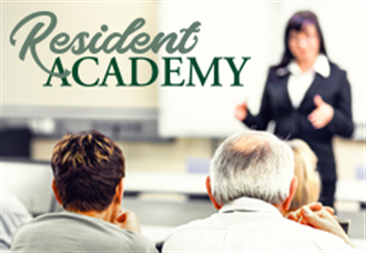 Resident Academy - Updated
