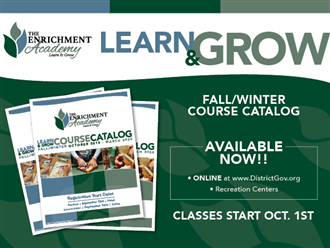 The Enrichment Academy Fall/Winter Catalog
